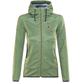 Maloja AmaliaM. Hooded Fleece Jacket Women bamboo